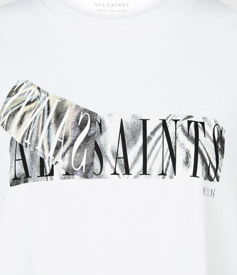 Womens Revelo Crew T-Shirt (optic_white) - Image 6