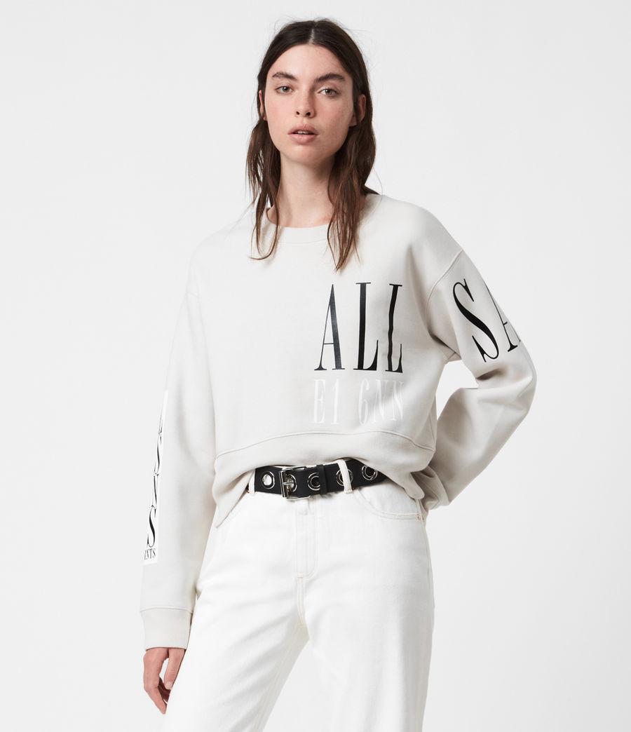 Womens Separo Eva Sweatshirt (ivory_white) - Image 1