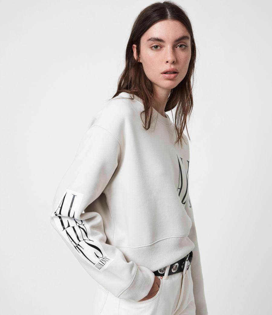Womens Separo Eva Sweatshirt (ivory_white) - Image 4