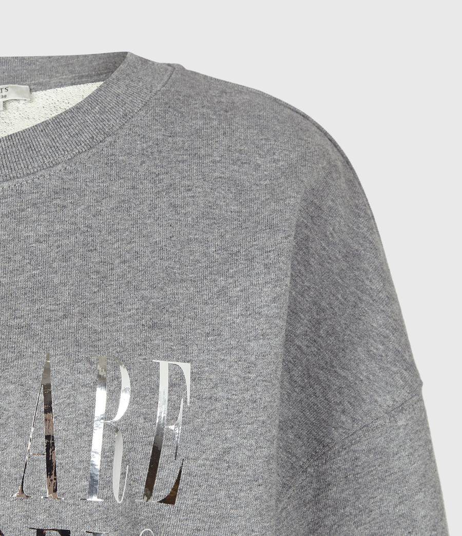 Womens Freedom Iona Sweatshirt (grey_marl) - Image 4