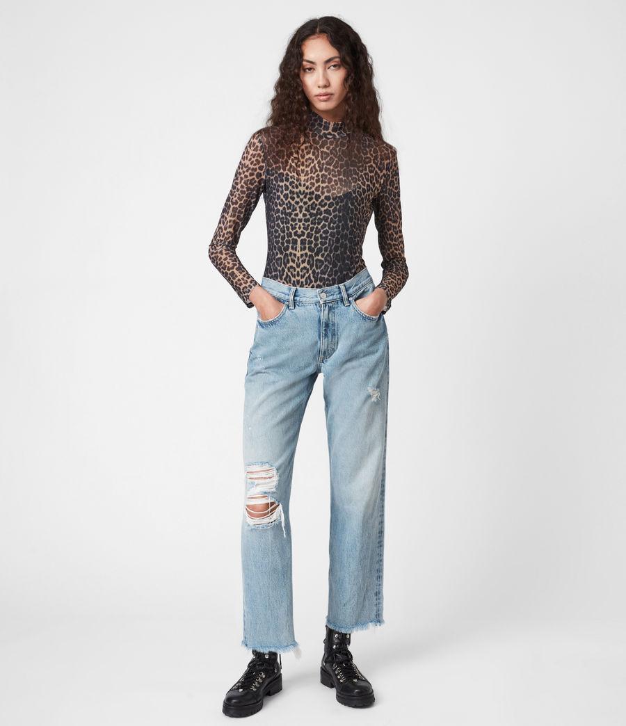 Damen Elia Linleo Bodysuit (taupe_brown) - Image 1