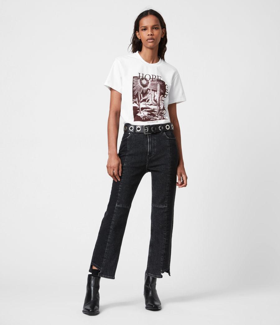 Femmes T-Shirt Cacti Boyfriend (optic_white) - Image 4