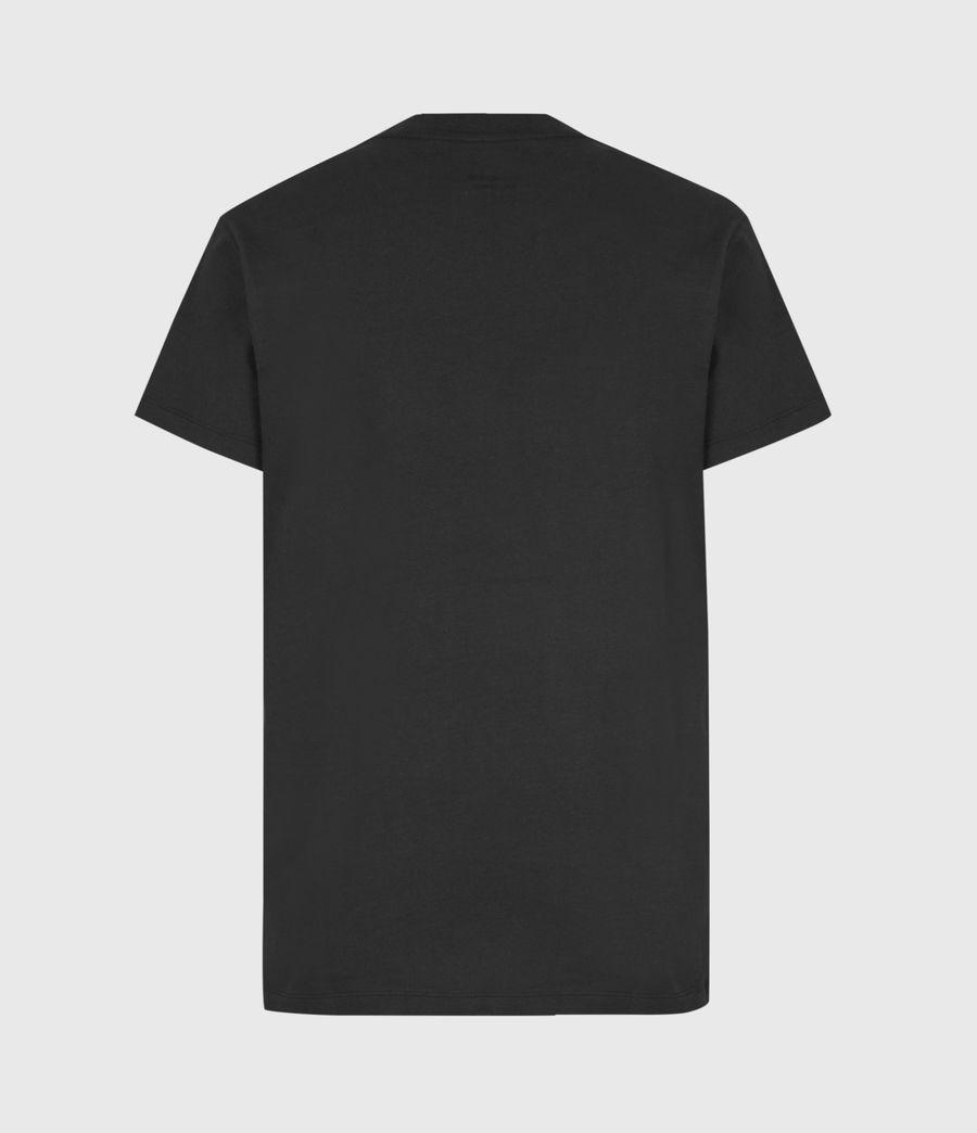 Womens Co-ordinates Boyfriend T-Shirt (black) - Image 3