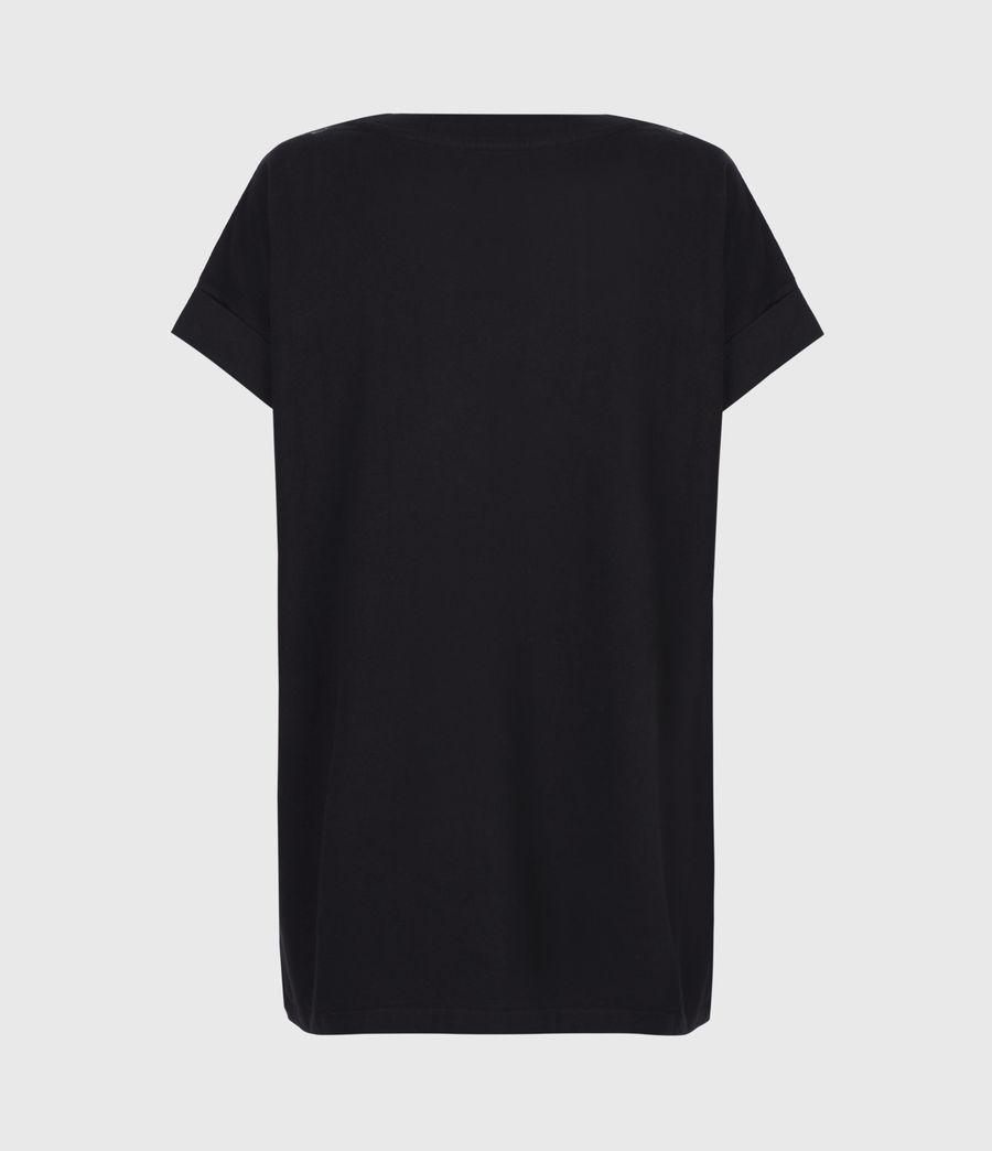 Damen Snake Eagle Imo Boy T-Shirt (black) - Image 3