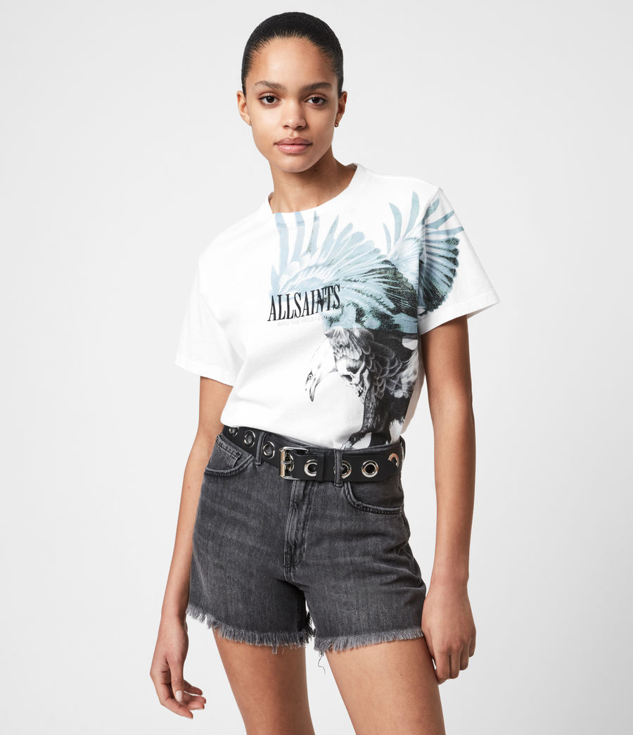 Women's Aquila Boyfriend T-Shirt (optic_white) - Image 1