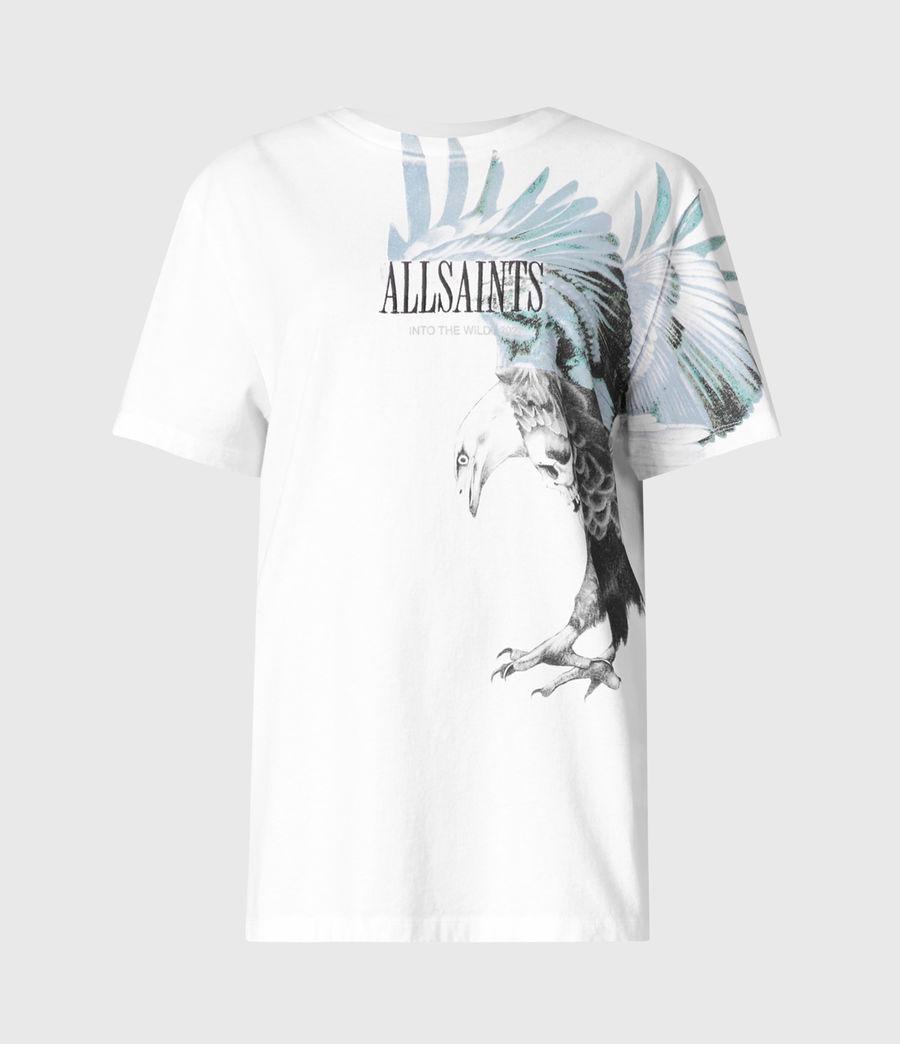 Women's Aquila Boyfriend T-Shirt (optic_white) - Image 2