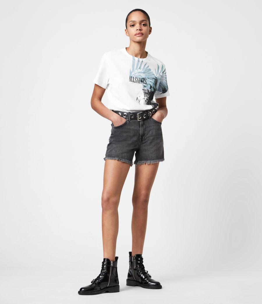 Women's Aquila Boyfriend T-Shirt (optic_white) - Image 4