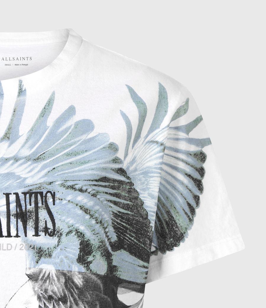 Women's Aquila Boyfriend T-Shirt (optic_white) - Image 5