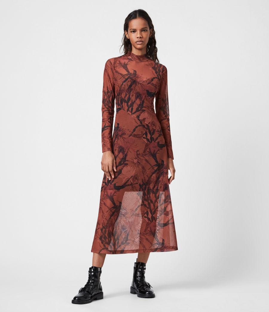 Women's Hanna Nolina Dress (cinnamon_brown) - Image 1
