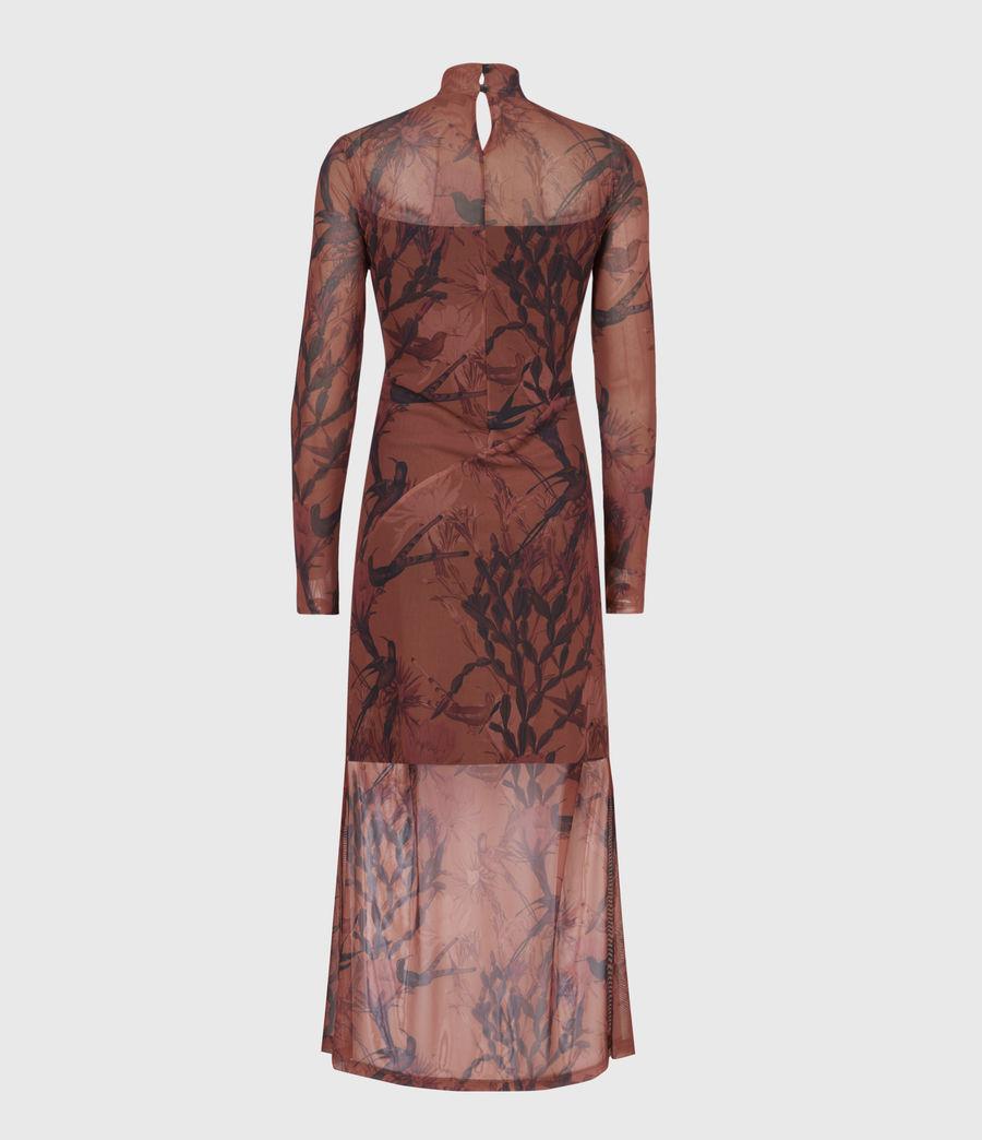Women's Hanna Nolina Dress (cinnamon_brown) - Image 3
