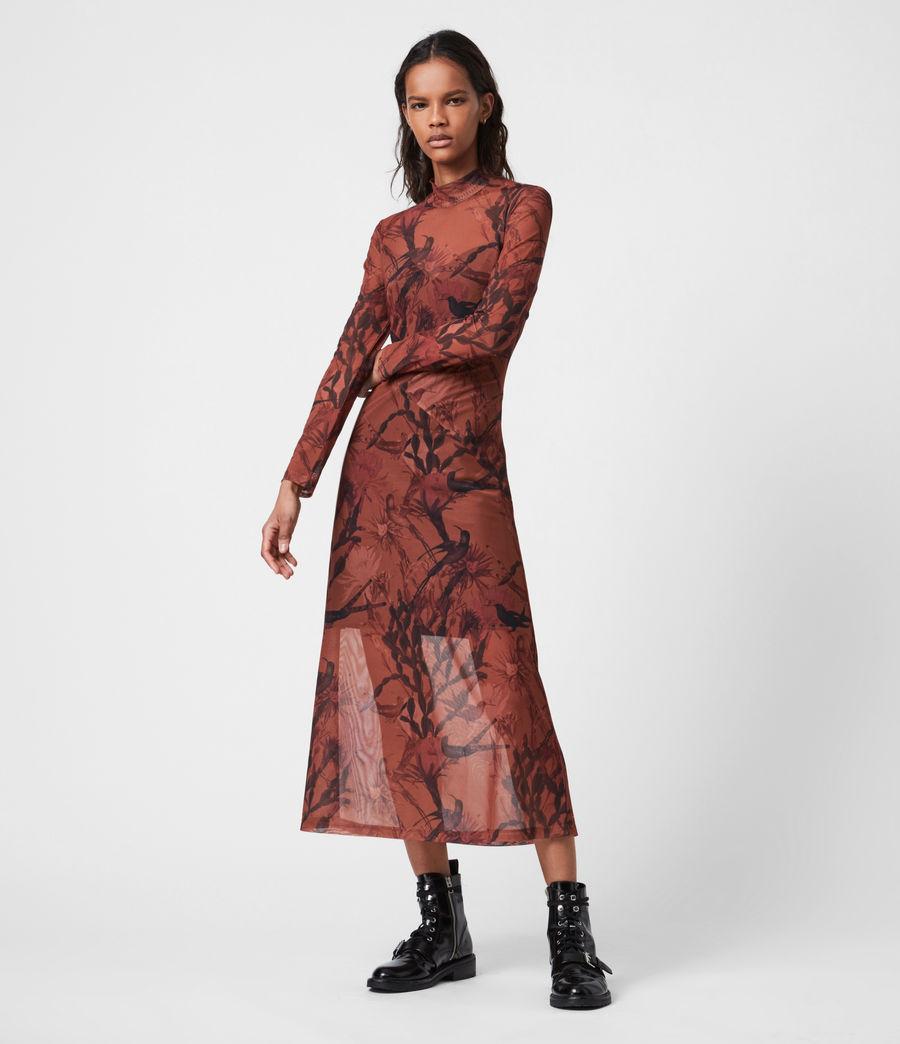 Women's Hanna Nolina Dress (cinnamon_brown) - Image 4