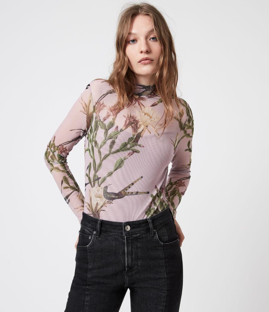 Womens Nolina Elia Bodysuit (plaster_pink) - Image 4