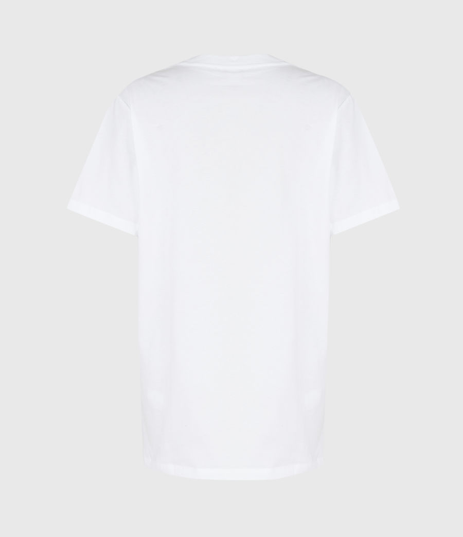 Women's Santo Boyfriend T-Shirt (optic_white) - Image 3