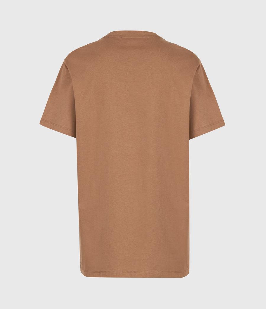 Women's Santo Boyfriend T-Shirt (conker_brown) - Image 3