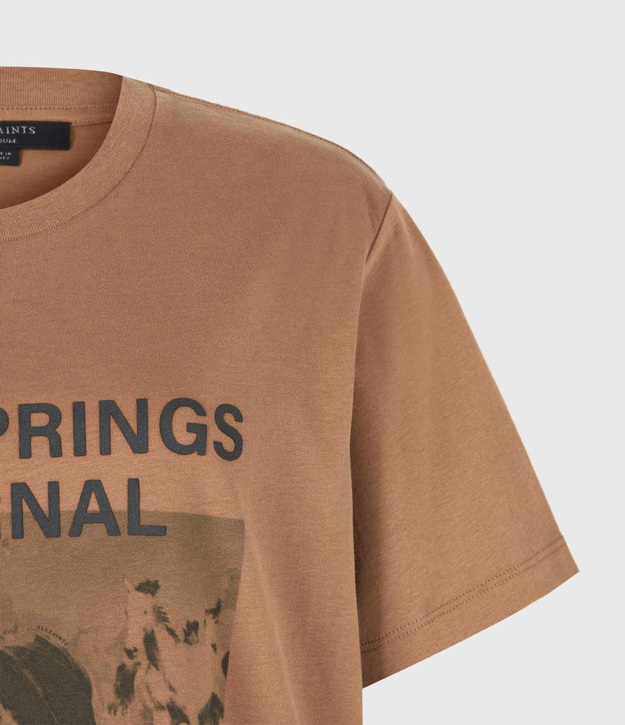 Women's Santo Boyfriend T-Shirt (conker_brown) - Image 5