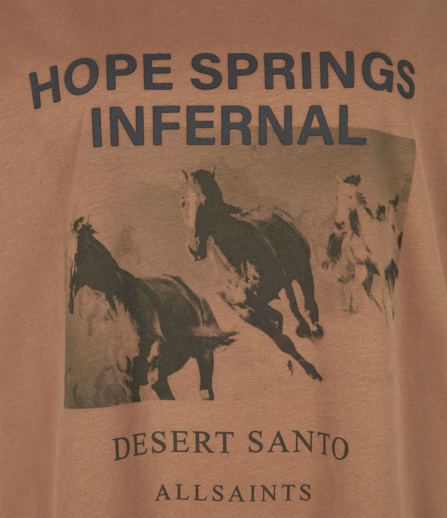 Women's Santo Boyfriend T-Shirt (conker_brown) - Image 6