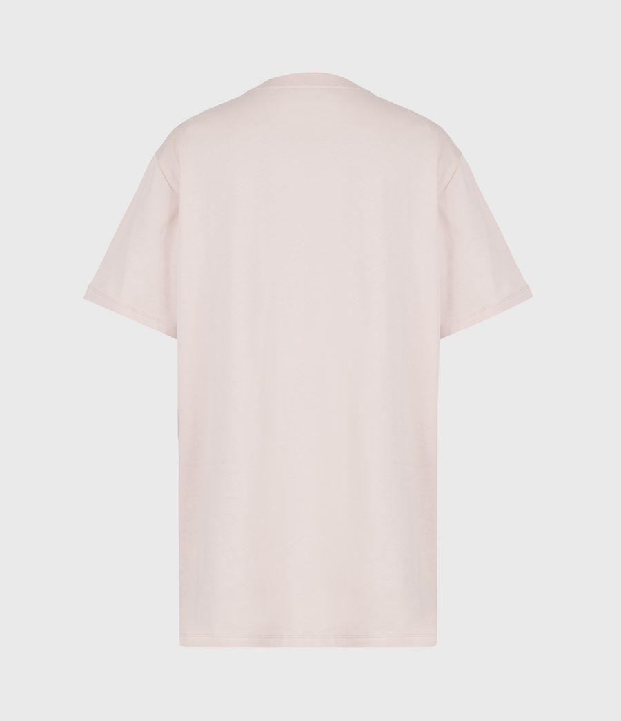 Womens Santo Boyfriend T-Shirt (morning_mauve) - Image 3