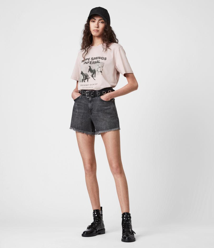 Womens Santo Boyfriend T-Shirt (morning_mauve) - Image 4