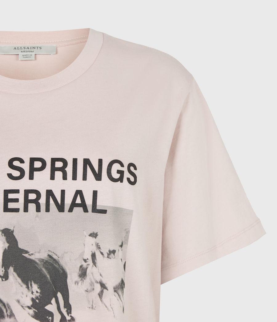 Womens Santo Boyfriend T-Shirt (morning_mauve) - Image 5