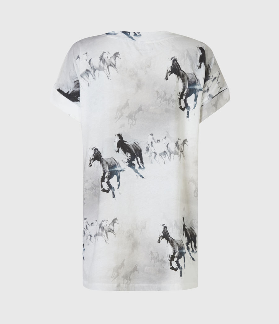 Womens Santo Imogen Boy T-Shirt (optic_white) - Image 3