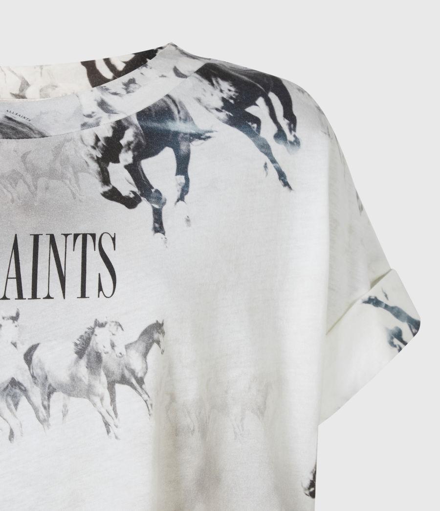 Womens Santo Imogen Boy T-Shirt (optic_white) - Image 5
