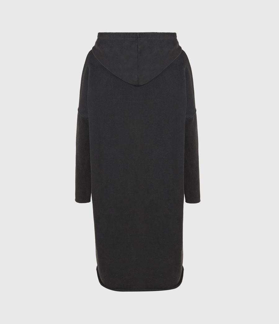 Damen Aquila Hoodie Kleid (vintage_black) - Image 3