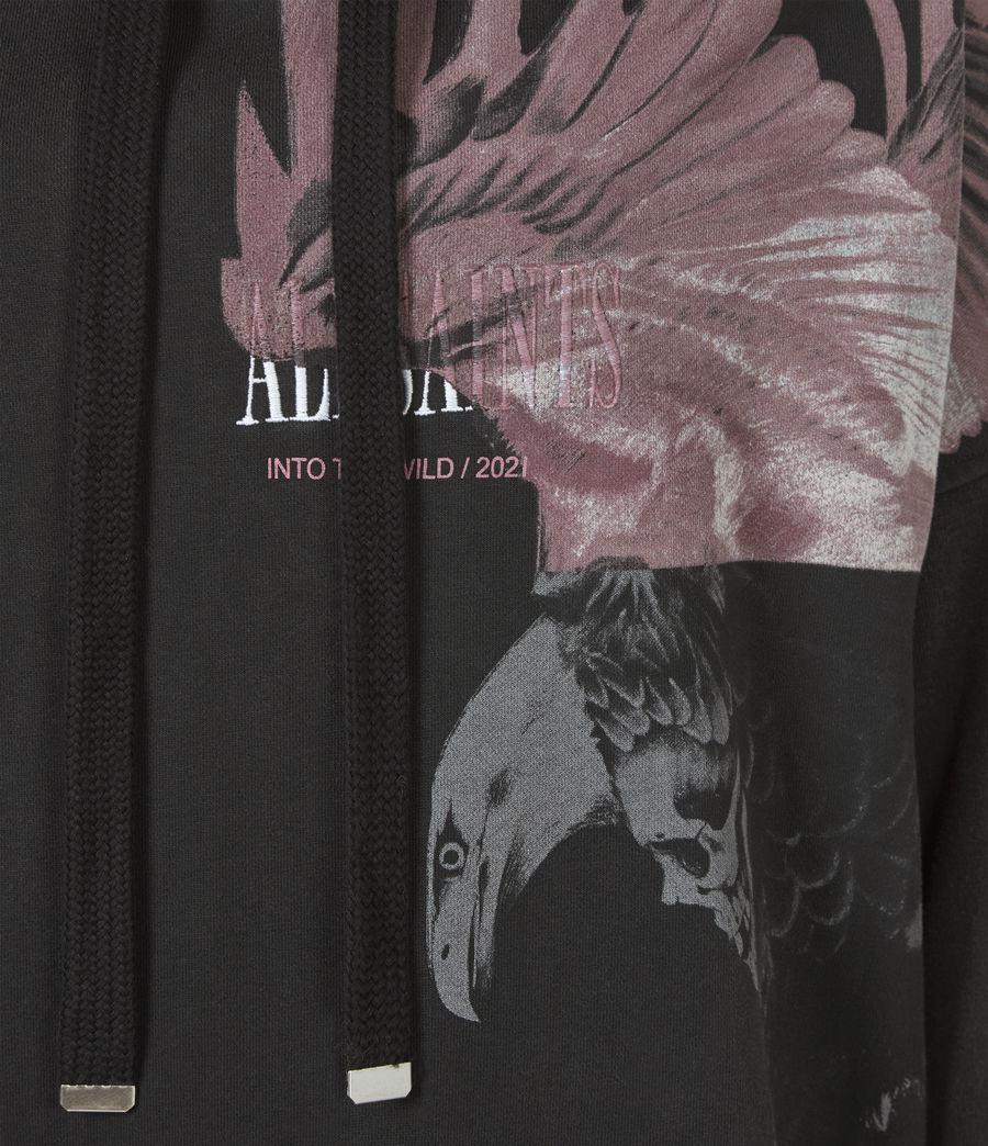 Damen Aquila Hoodie Kleid (vintage_black) - Image 6