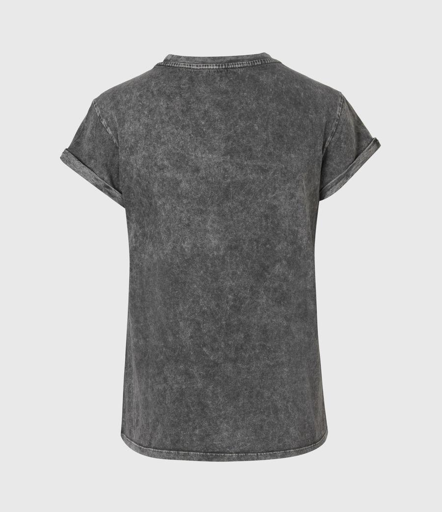 Womens Forever Tiger Anna T-Shirt (acid_washed_black) - Image 3