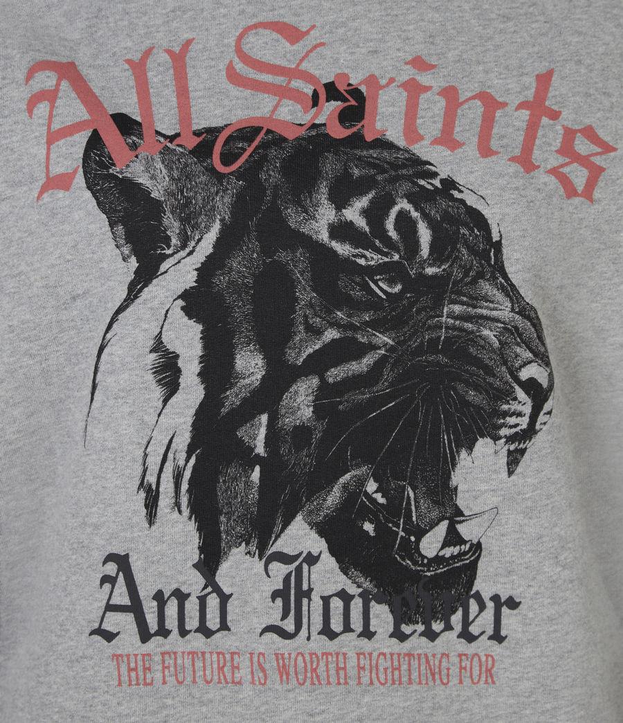 Womens Forever Tiger Tessa Sweatshirt (grey_marl) - Image 6