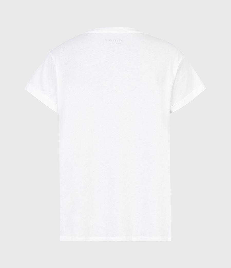 Womens Boxsaints Anna T-Shirt (optic_white) - Image 3