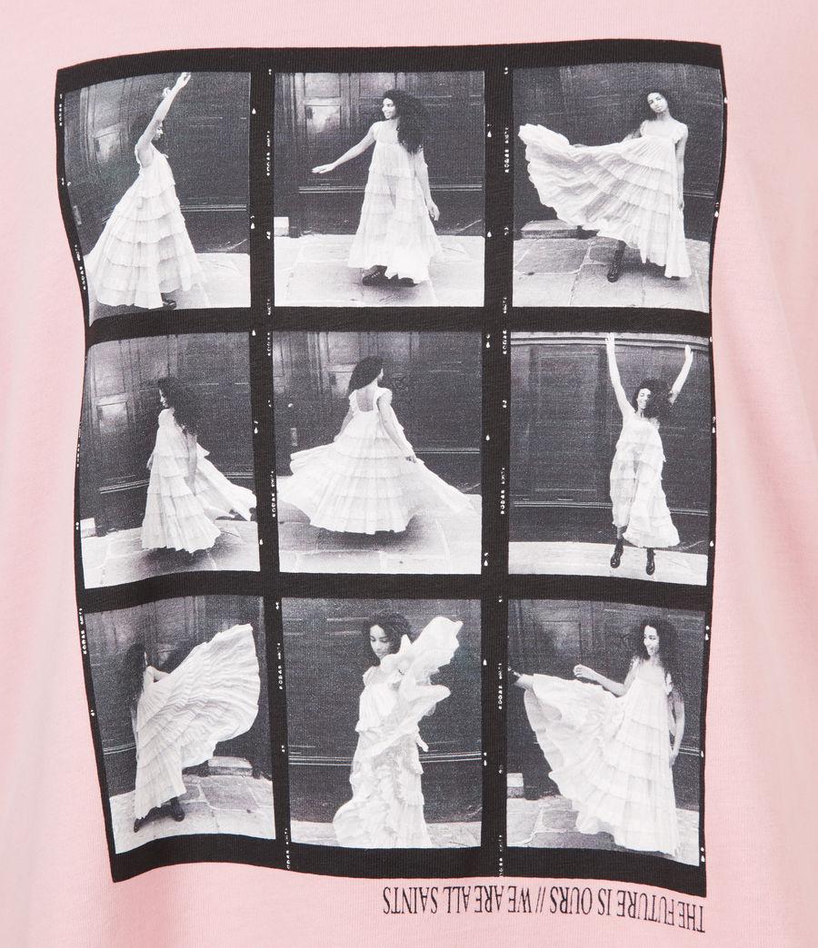 Womens Livo Anna T-Shirt (vintage_pink) - Image 6