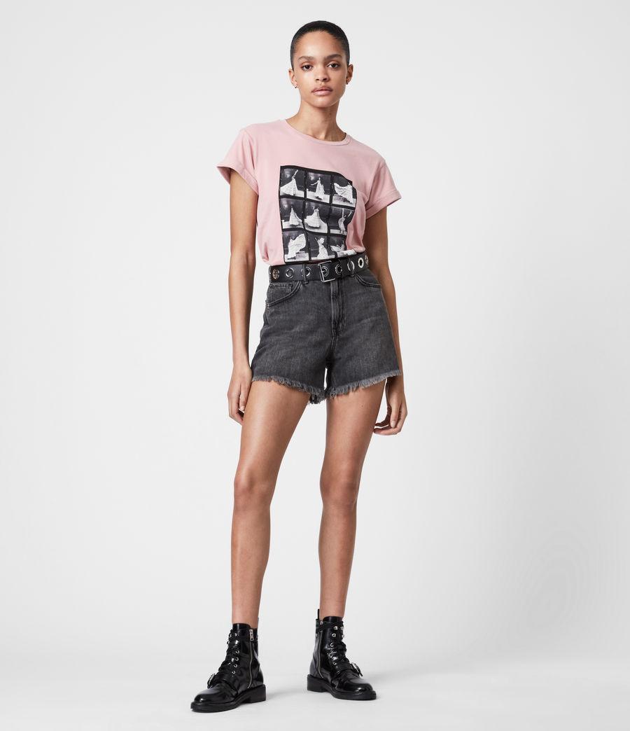 Womens Livo Anna T-Shirt (vintage_pink) - Image 7