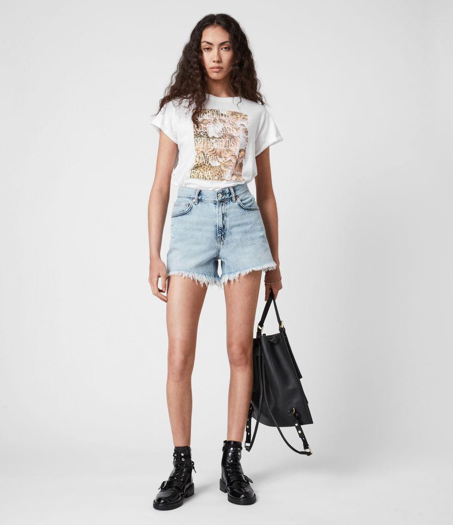 Femmes BoxSaints Pryde Anna T-Shirt (optic_white) - Image 1