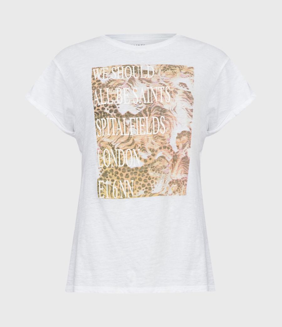 Femmes BoxSaints Pryde Anna T-Shirt (optic_white) - Image 2