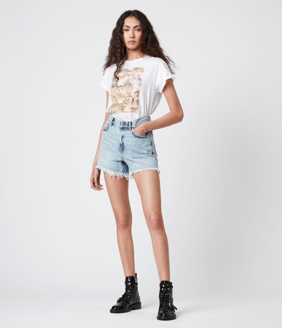 Femmes BoxSaints Pryde Anna T-Shirt (optic_white) - Image 6