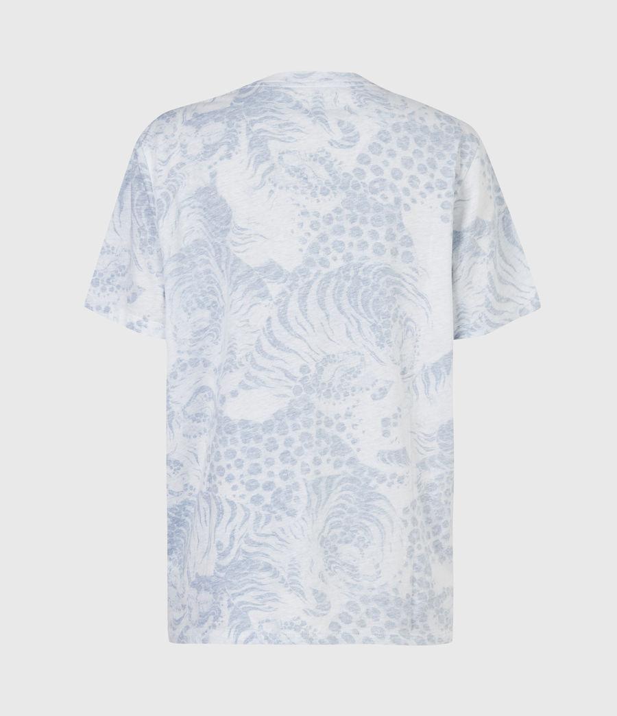 Women's Reverse Boyfriend T-Shirt (blue) - Image 3