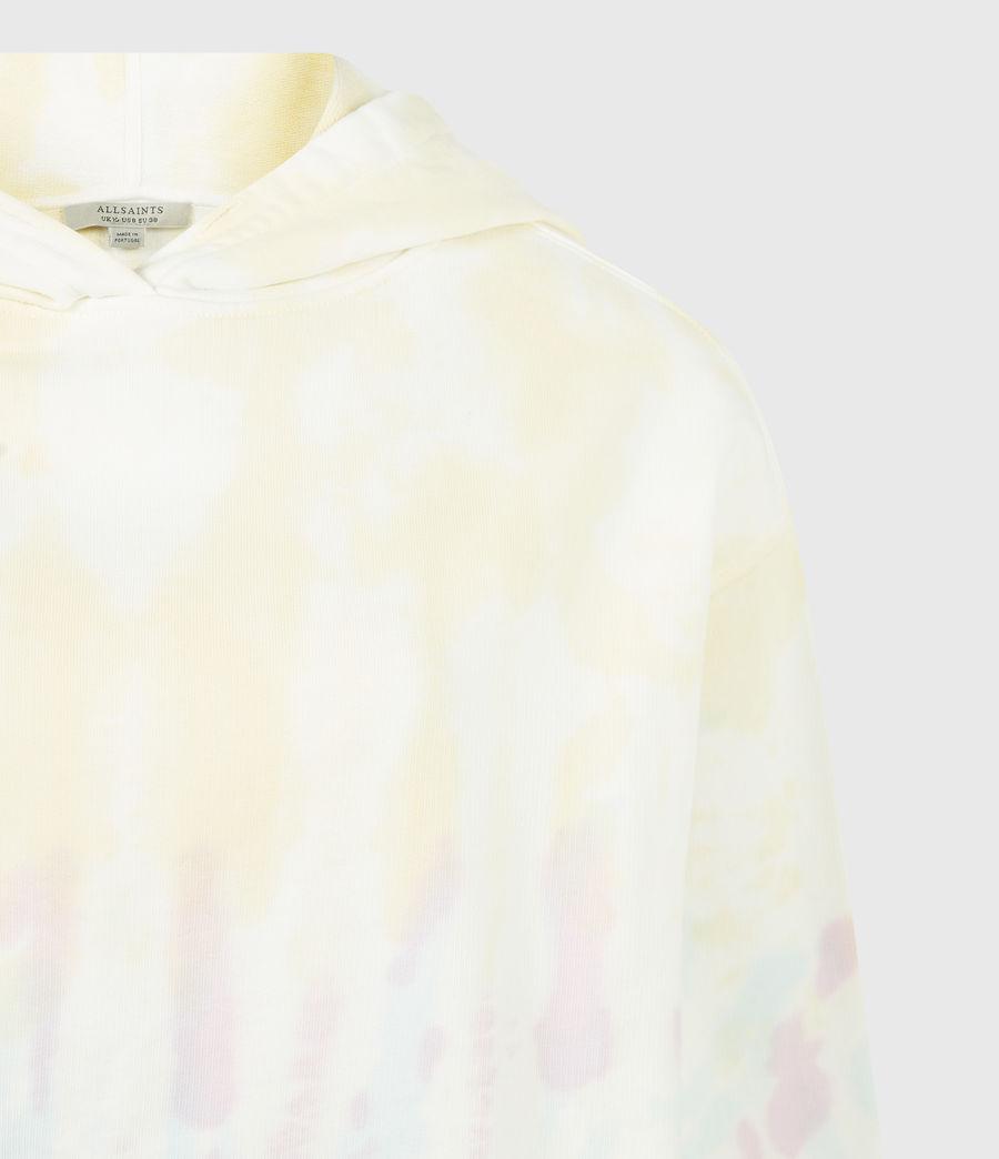 Womens Pippa Tie Dye Hoodie (yellow_lilac) - Image 5