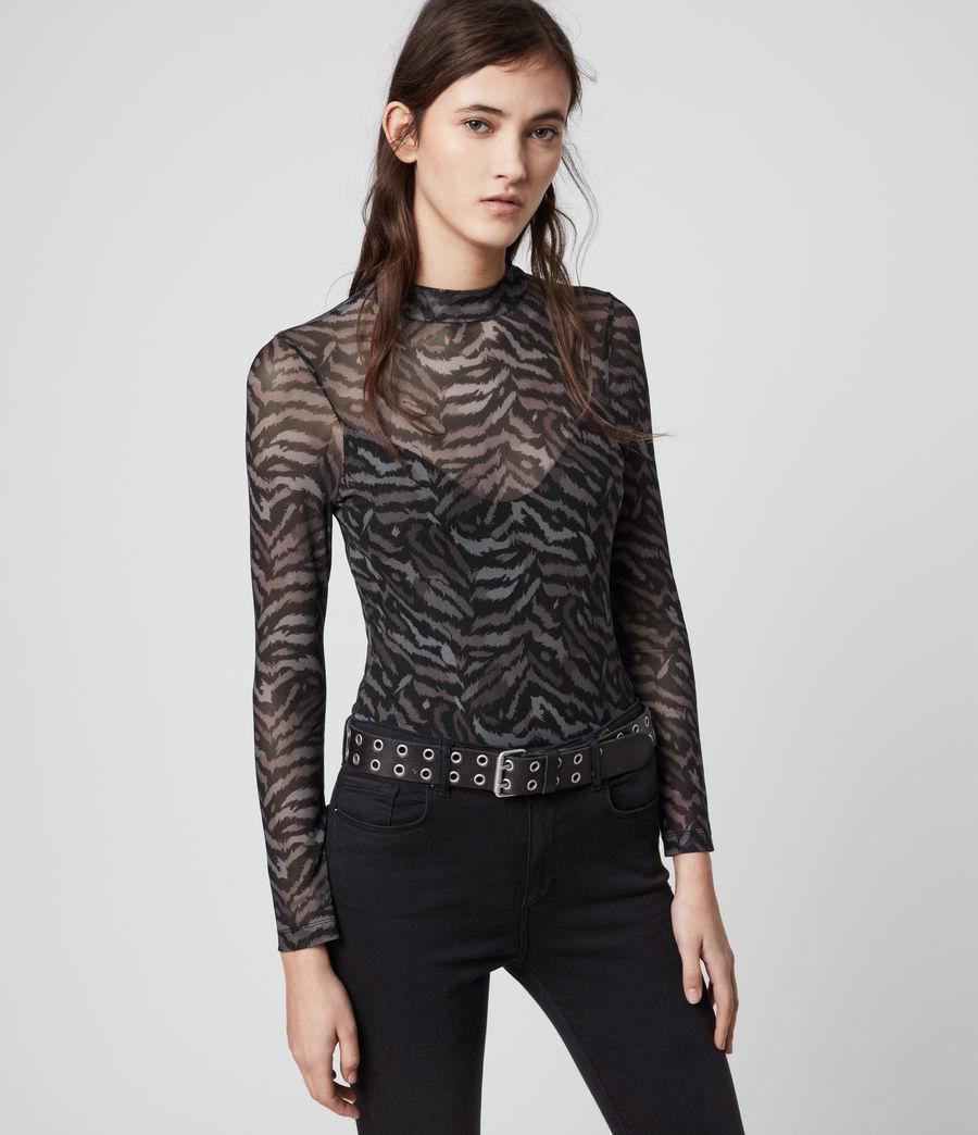 Womens Remix Elia Bodysuit (grey) - Image 1