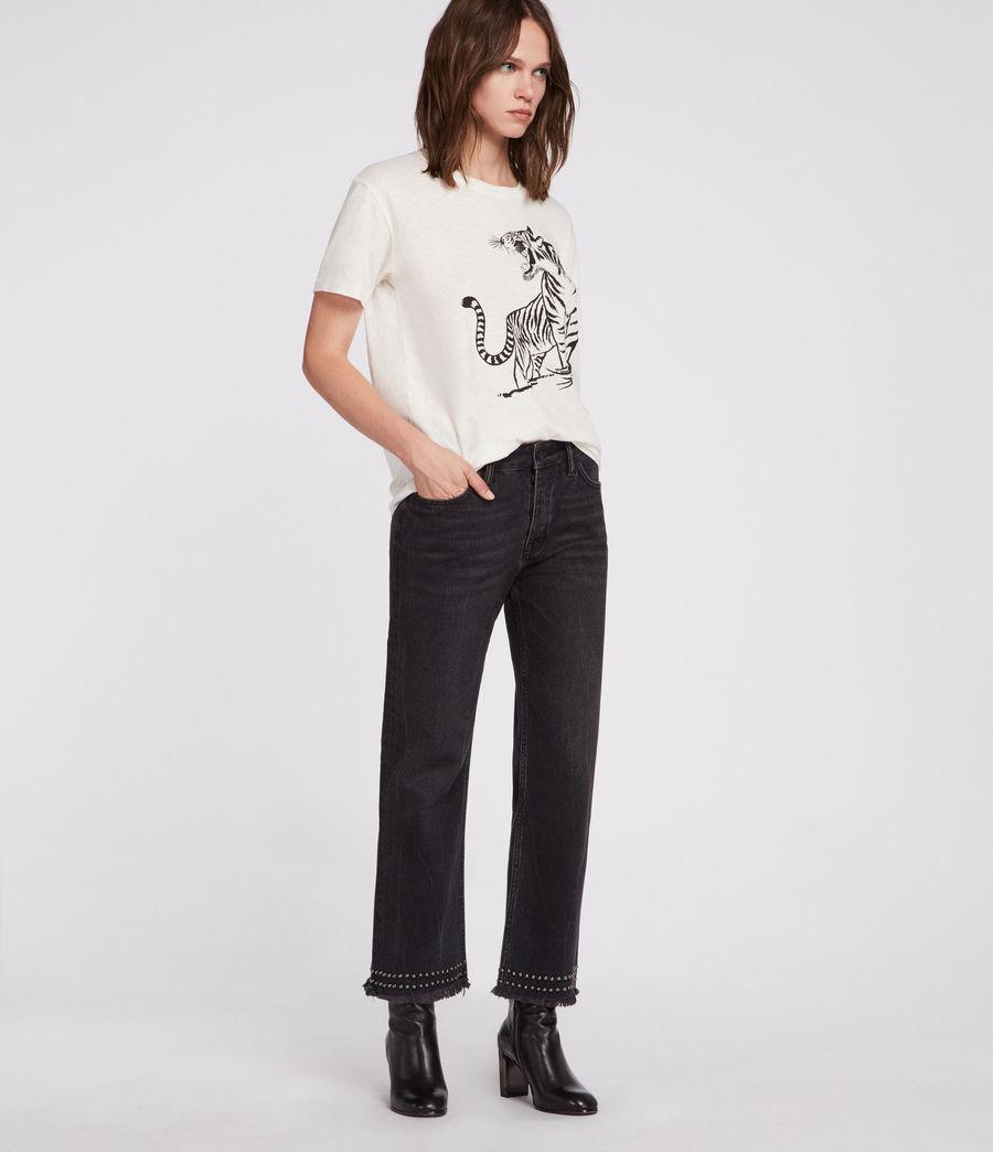Womens Tory Mic T-Shirt (chalk_white) - Image 2
