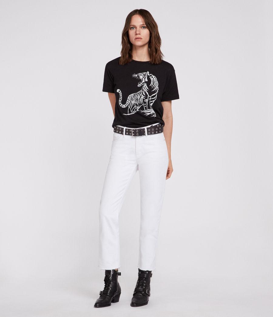 Womens Tory Mic T-Shirt (black) - Image 1