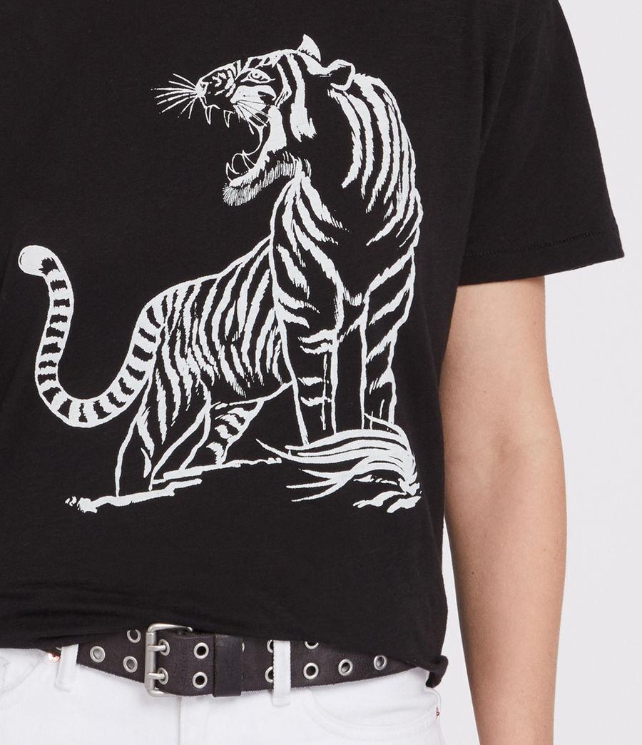 Femmes Tory Mic T-Shirt (black) - Image 3