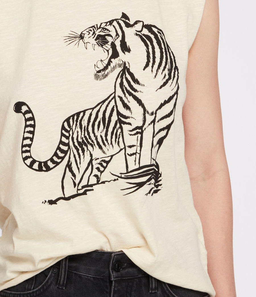 Mujer Tory Harlie Tank (vintage_yellow) - Image 3