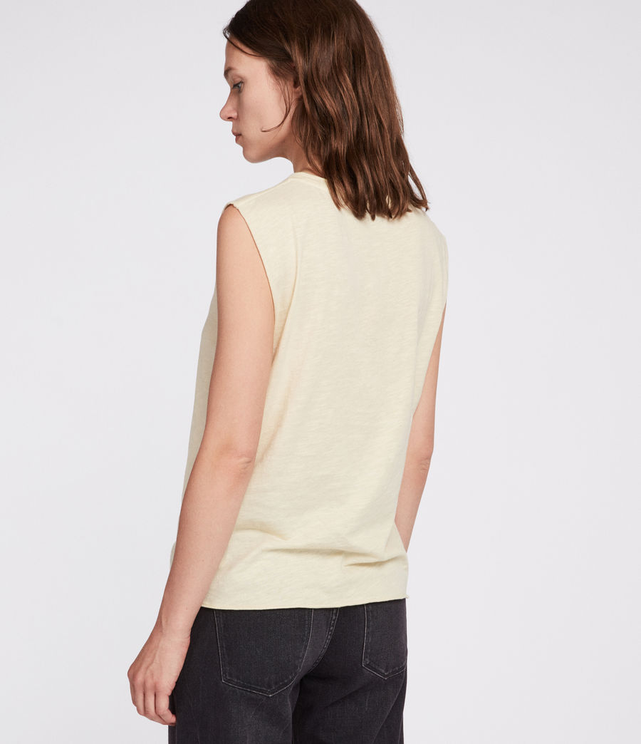 Mujer Tory Harlie Tank (vintage_yellow) - Image 4