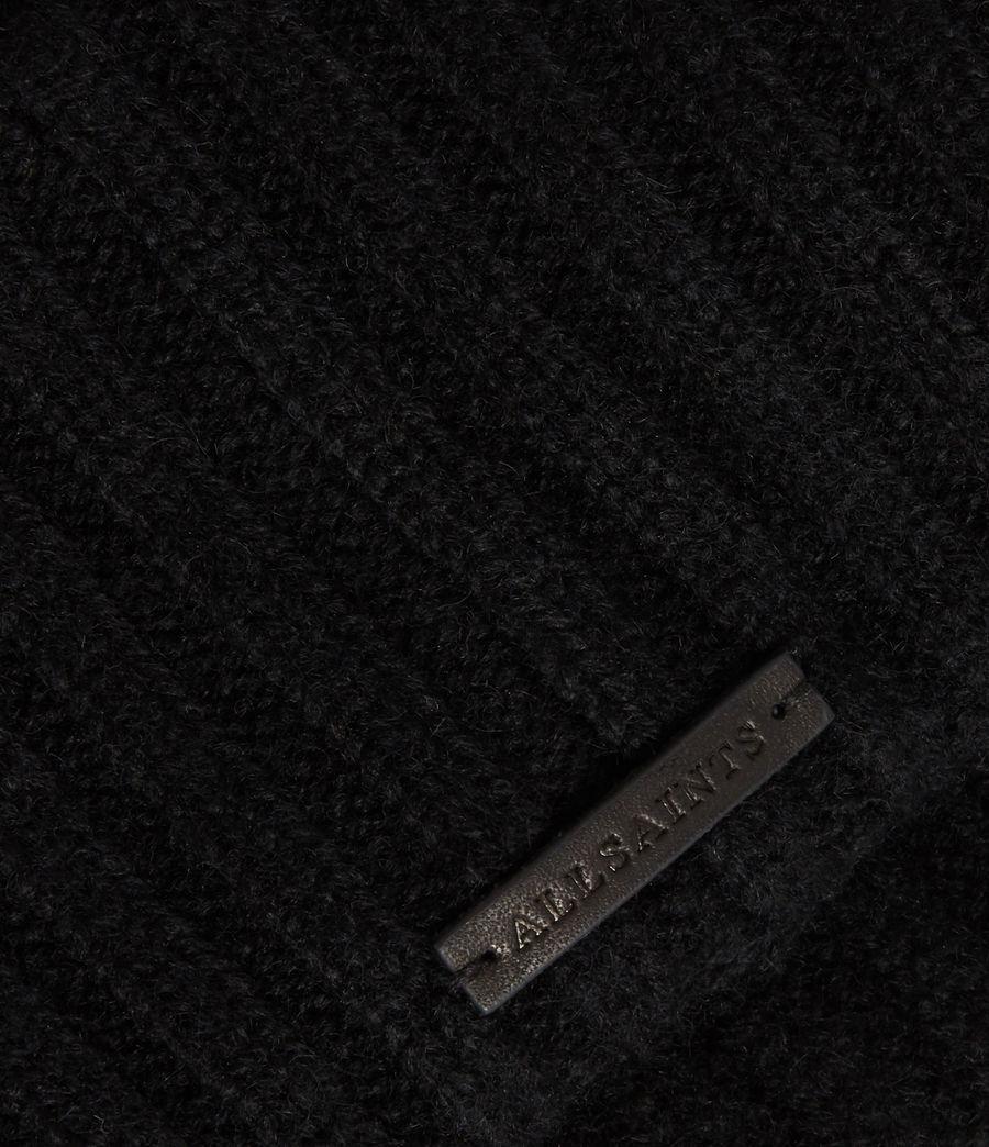 Women's Marled Wool Beanie (grey_marl) - Image 3