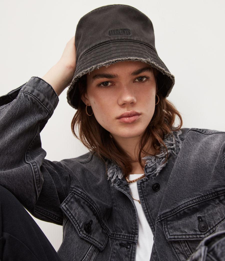 Women's Skye Bucket Hat (washed_black) - Image 1