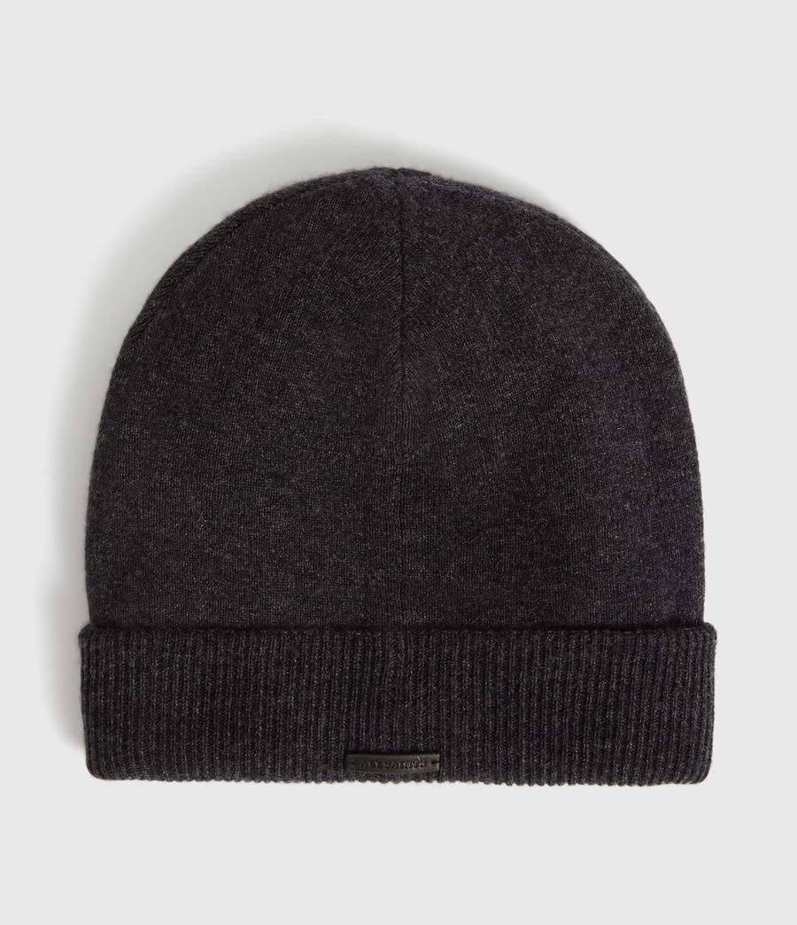 Mujer Cashmere Blend Beanie (charcoal) - Image 2