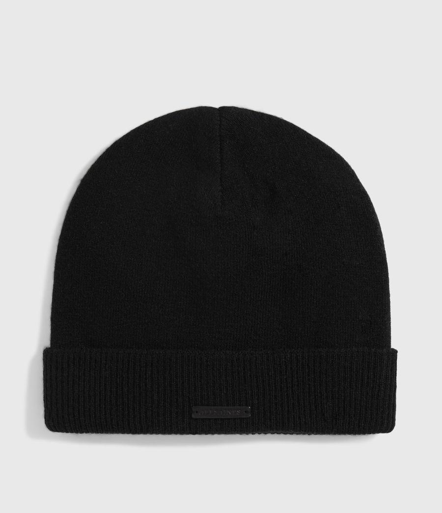 Damen Mütze aus Wolle und Kaschmir (black) - Image 1