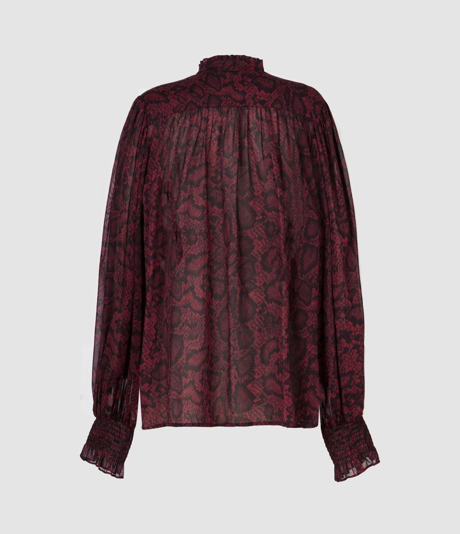 Women's Leonie Stanza Shirt (burgundy_red) - Image 3