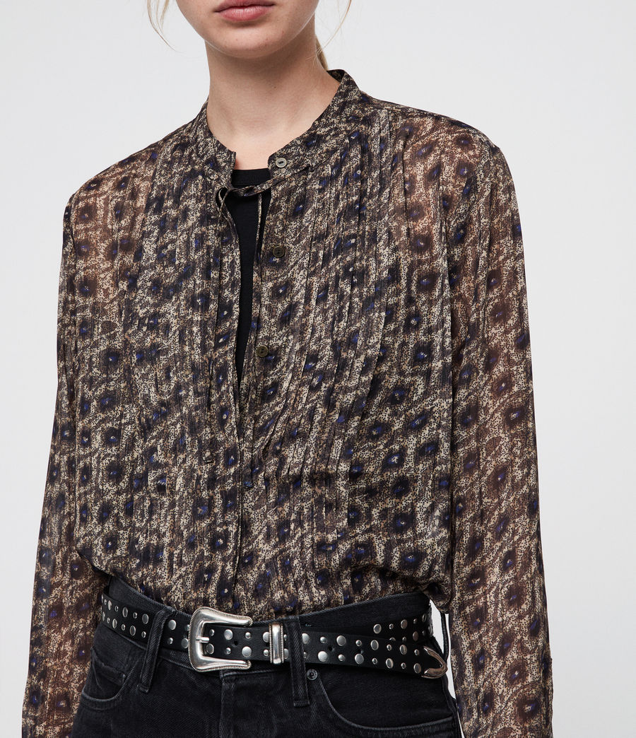 Mujer Cada Flux Shirt (sand_brown) - Image 2