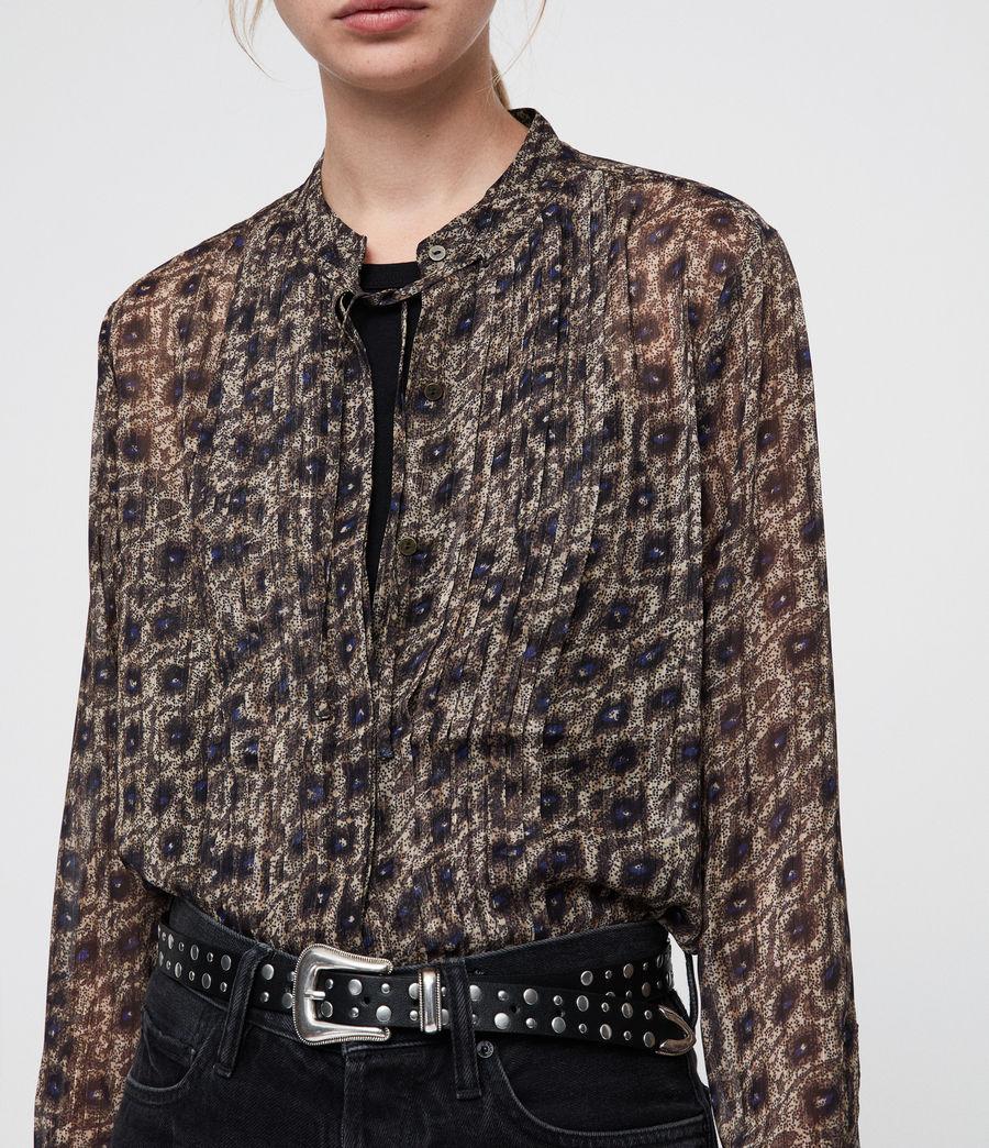 Womens Cada Flux Shirt (sand_brown) - Image 2